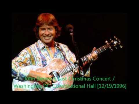 John Denver Christmas.John Denver Last Christmas Concert 12 19 1996