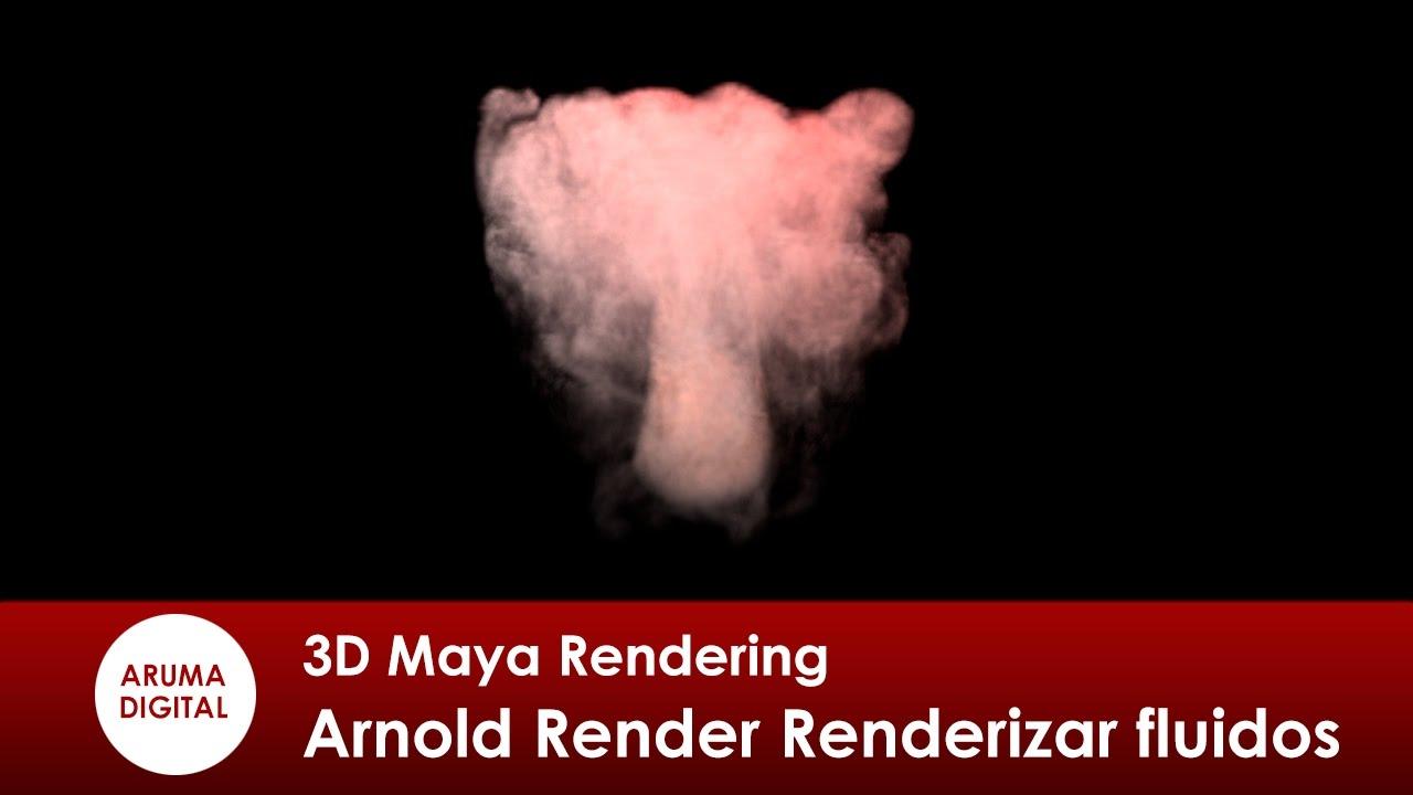 3D Maya 302 Rendering Arnold Renderizar fluidos - YouTube