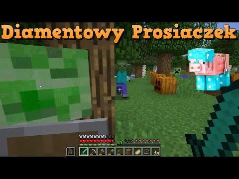 Diamentowy Prosiaczek [MINECRAFT PL #62]: Pocałunek Creepera!