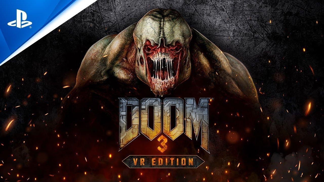 DOOM3 VR Edition - Announce Teaser Trailer   PS VR