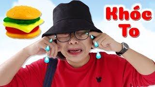 Ăn Vụng Bánh Hamburger SUBI TV