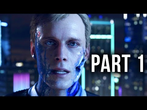 Detroit Become Human Early Gameplay Walkthrough Part 1 - DEMO (PS4 Pro)