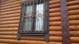 видео Кованые решетки на окно