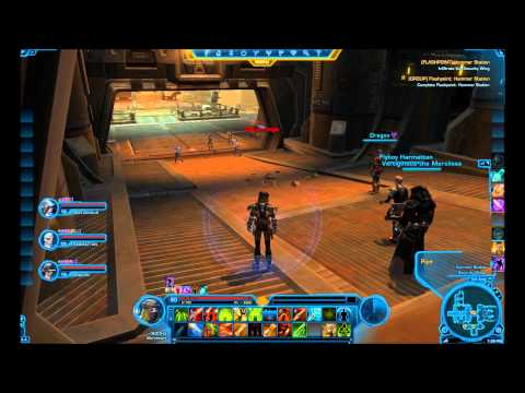 SWTOR Healing as a Bodyguard Mercenary (Bounty Hunter) in PvE, Hammer Station Flashpoint