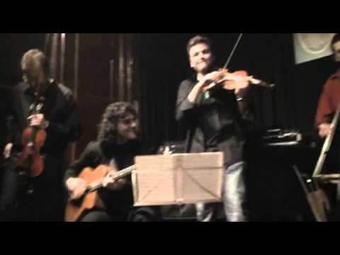"violin jazz Oriol Saña,""Shine"" Pipa's Club Barcelona, Gypsy Swing"