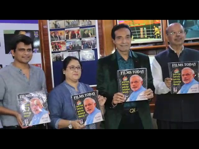 Dheeraj Kumar, Dr Soma Ghosh launched Films Today magazine
