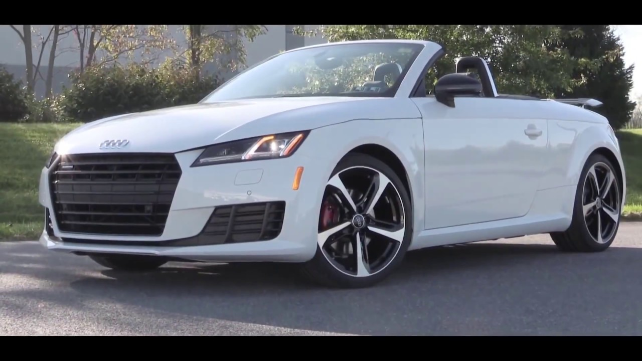 Audi TT RS Coupe Roadster Convertible Quattro Review And Road - Audi sports car convertible