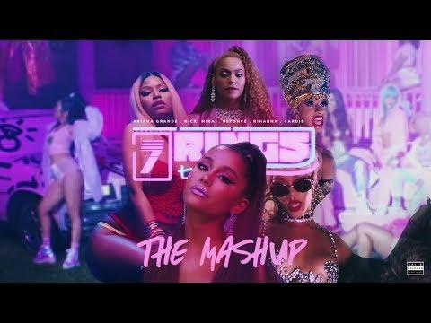 Ariana Grande, Nicki Minaj, Beyoncé, Rihanna & Cardi B - 7 RINGS | THE MASHUP