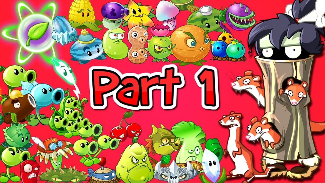 Plants vs  Zombies 2 it's about time: Weasel Hoarder Zombie vs Every Plant  Power Up vs Primal PVZ 2