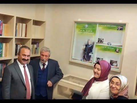 GRÜ Prof. Dr. Ali Çelik Kütüphanesi Açılış Töreni (Canlı Yayın)