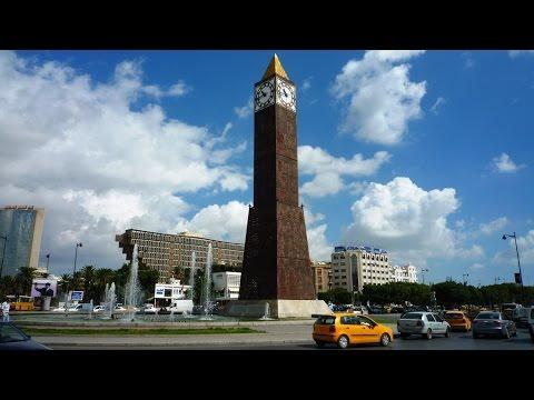 Tunis - the capital of Tunisia
