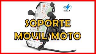SOPORTE DE MOVIL PARA MOTO