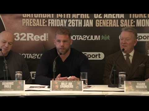 SAUNDERS v MURRAY & FLANAGAN v HOOKER: Full press conference (January 25th)