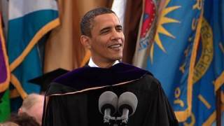 President Obama at Michigan Commencement thumbnail