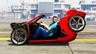 GTA 5 REALISTIC CAR Damage Mod! (Funny)