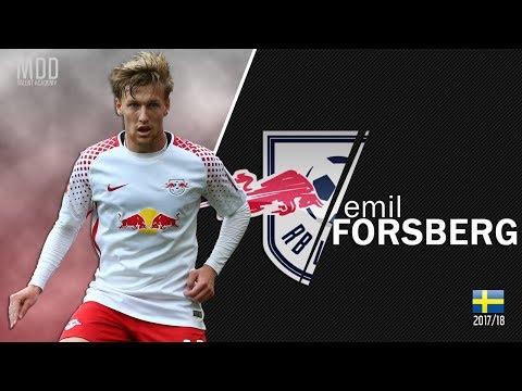Emil Forsberg | RB Leipzig | Goals, Skills, Assists | 2017/18 - HD