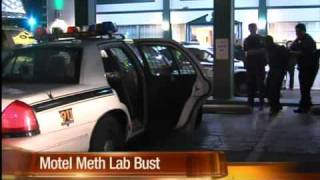 Man calls police, ends up jailed for meth lab