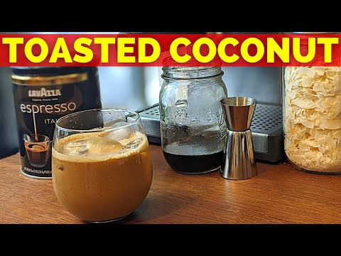 How to Cook Toasted Coconut Syrup That Starbucks Wont Sell You