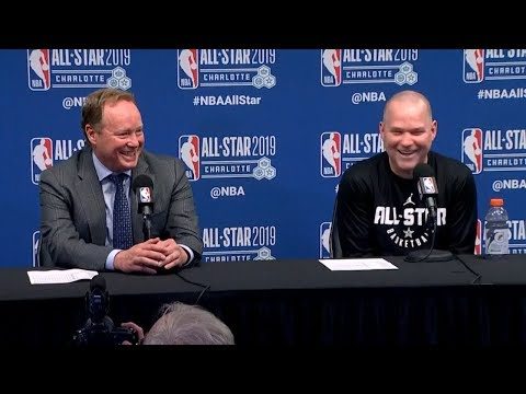 Coach Malone & Coach Budenholzer Postgame Interview | 2019 NBA All-Star Game