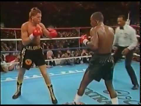 Boxing - Sugar Ray Leonard vs Donny Lalonde (1988)