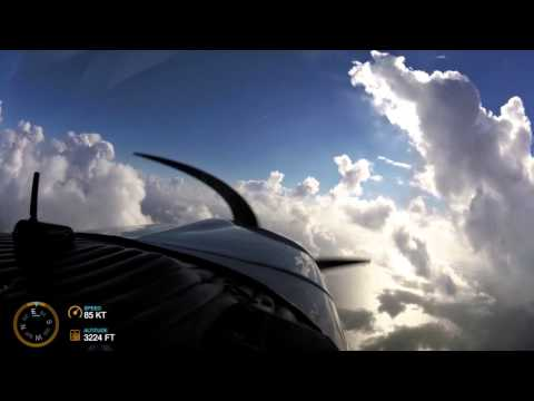 Flying to Bimini, The Bahamas, in a Grumman Tiger