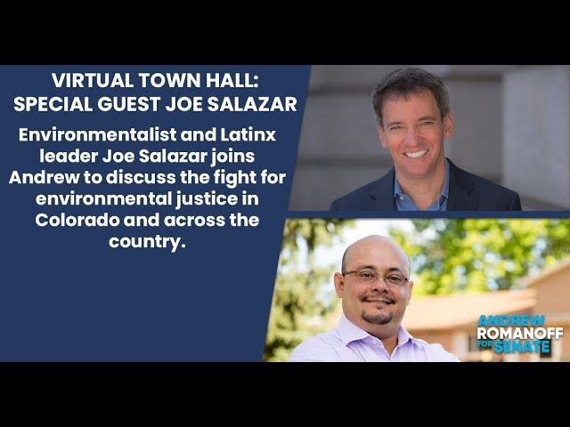 Virtual Town Hall w/ Joe Salazar