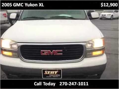 2005 gmc yukon xl used cars mayfield ky youtube for Seay motors mayfield ky