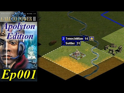Call To Power II - Apolyton Edition [1/3] Ep001 - Barbarians Take Our Capital!
