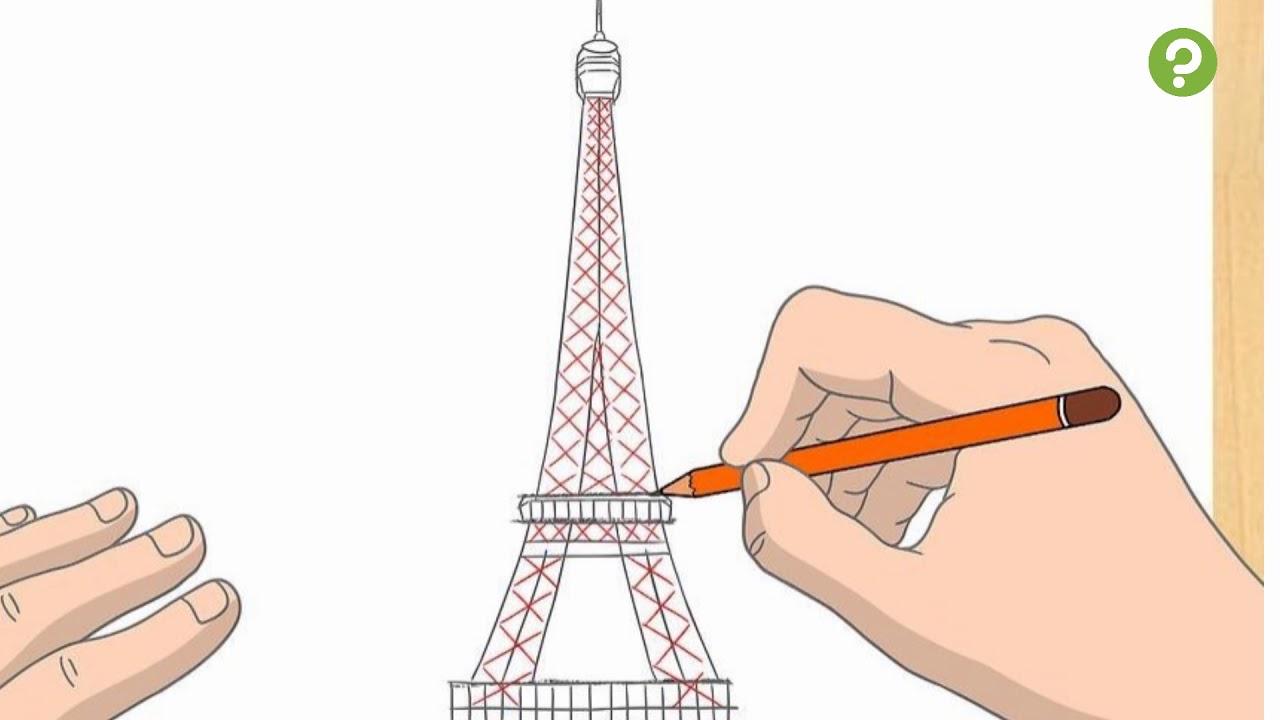 Comment dessiner la tour eiffel youtube - Comment dessiner le drapeau d angleterre ...