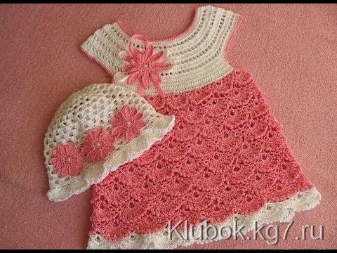 Crochet Patterns For Free Crochet Baby Dress 35 Youtube