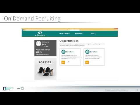 On Demand Online Qualitative Recruitment Offered by Research Now and itracks