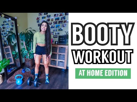 THE BEST BOOTY WORKOUT EVER (at home edition)