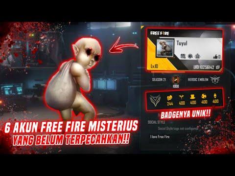 6 AKUN FREE FIRE PALING MISTERIUS YANG BELUM TERPECAHKAN - Misteri Free Fire
