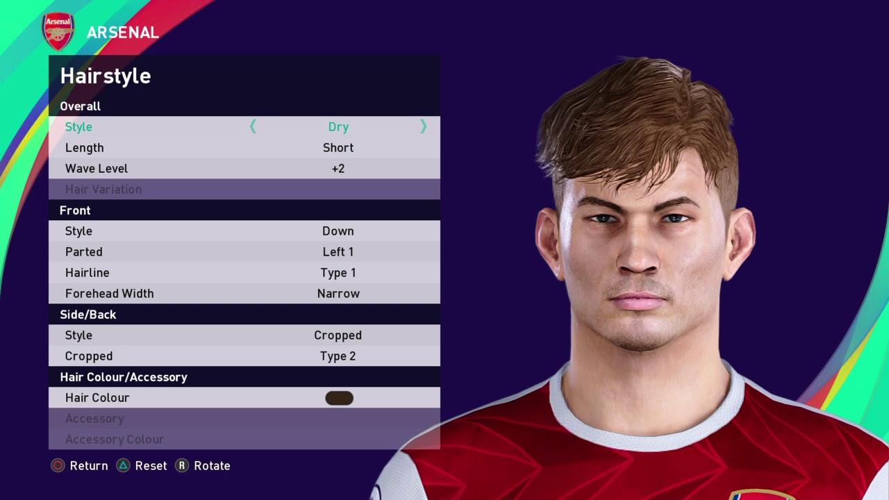 Efootball Pes 2021 Season Update Smith Rowe Arsenal Youtube