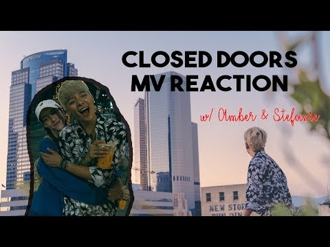 'Closed Doors' MV Reaction w/ Amber & Stefanie 뮤비 반응