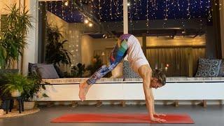 Yogapass - Vinyasayoga med hopp och bakåtböjningar