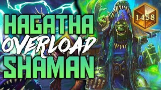 Hagatha Giant Overload Shaman | The Witchwood | Hearthstone Expansion