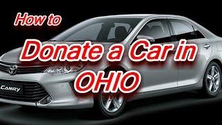 Donate a Car in Ohio