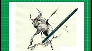 """Nuevo CURSO de dibujo a lápiz Cap. 3 """"Elementos formales del dibujo"""""""