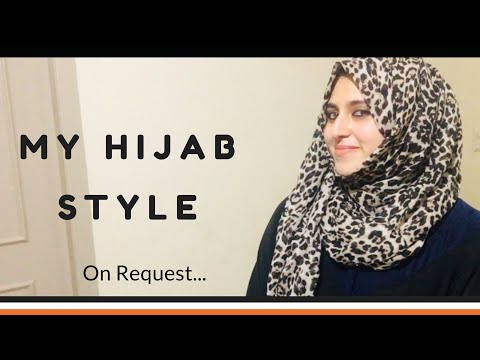 My Hijab Style | No Pins, No Inner Cap Hijab Tutorial | everyday hijab style |Beginners Guide thumbnail
