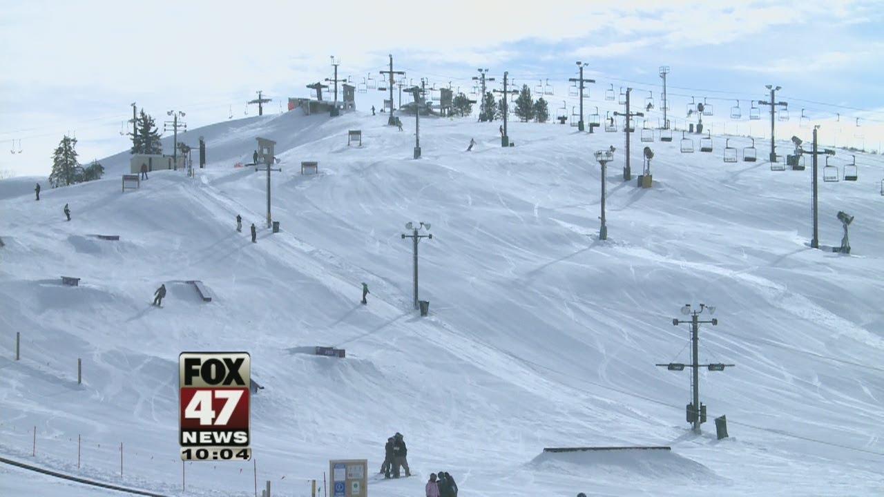 mt. brighton ski resort a 'new mountain' this year - youtube