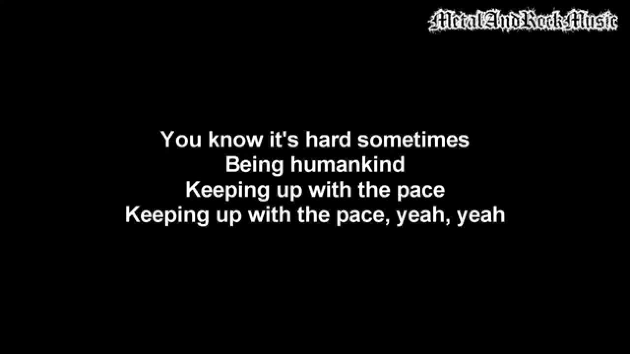 Download Three Days Grace - Human Race   Lyrics on screen   HD