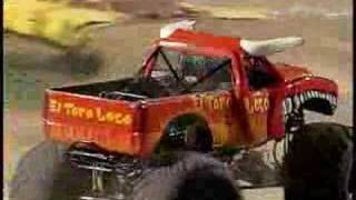 Monster Jam - Batman vs. El Toro Loco Monster Truck In El Paso, TX 2007