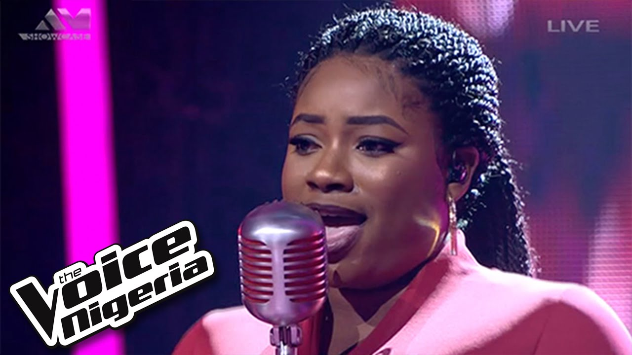 Shammah Sings I D Rather Go Blind Live Show The Voice