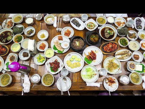 KOREAN FEAST in Jeonju Hanok Village