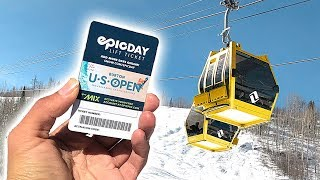 WORLDS MOST EXPENSIVE LIFT TICKET
