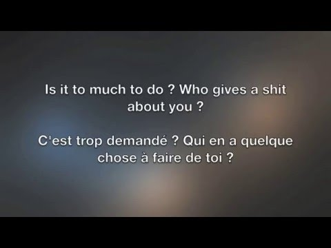 Better Die Young - Nomy Lyrics English/Français