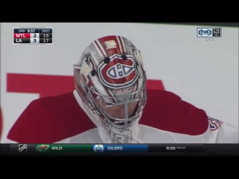 Drew Doughty Scores On Carey Price | Kings Lead Canadiens 3-2