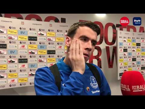 "Seamus Coleman on Merseyside derby defeat | ""He's won us more points than he has lost"""
