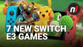 7 Brand New Nintendo Switch Games Revealed at E3 2017 (And 1 New 3DS Game)